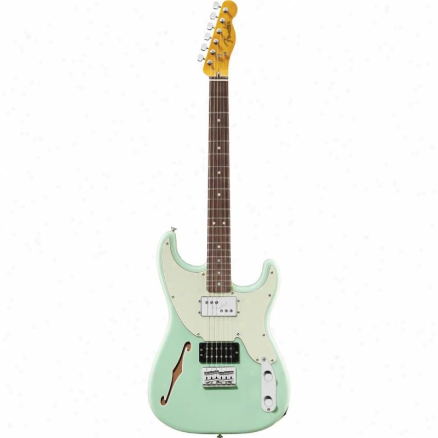 Fender® '72 Pawn Shop Stratocaster® Guitar - Surf Green - 026-6200-357