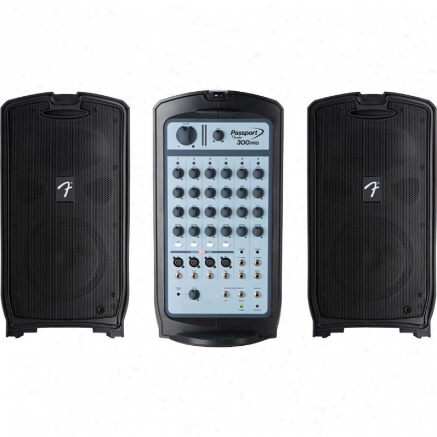 Fender® 0694403000 Passport® 300 Pro Portable Pa System 0694403000