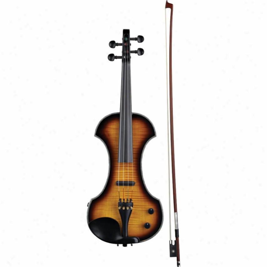 Fender® 095-0030-232 Fv-33 Deluxe Electric Violin - Sunburst Ebony