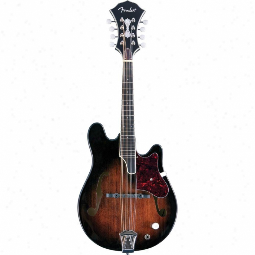 Fender® 095-5257-021 Fm-52e Robert Schmidt Electric Mandolin - Sunburst