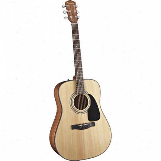 Fender® 0950801100 Dg-8s Dreadnought Acoustic Guiyar Value Pack