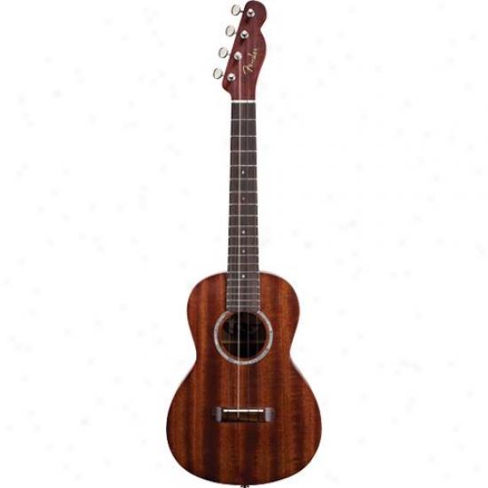 Fender&® 0955620021 Ukul3le Pa'ina - Natural Finish