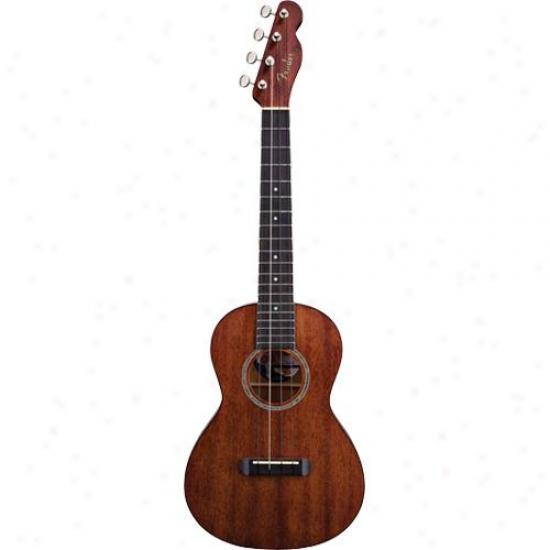 Fender® 0955630021 Ukulele Hau'oli - Natural Fibish