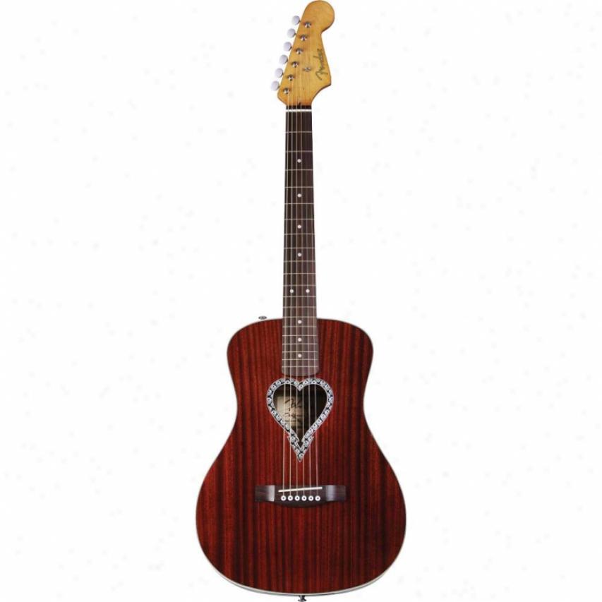 Fender® 096-8325-021 Alkaline Trio Malibu Acoustic Guitar - Naturql