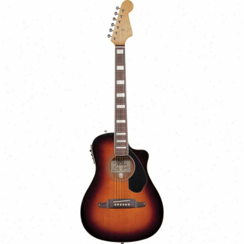Fwnder® 096-8602-032 Malibu Sce Acoustic Guitar - 3 Color Sunburst