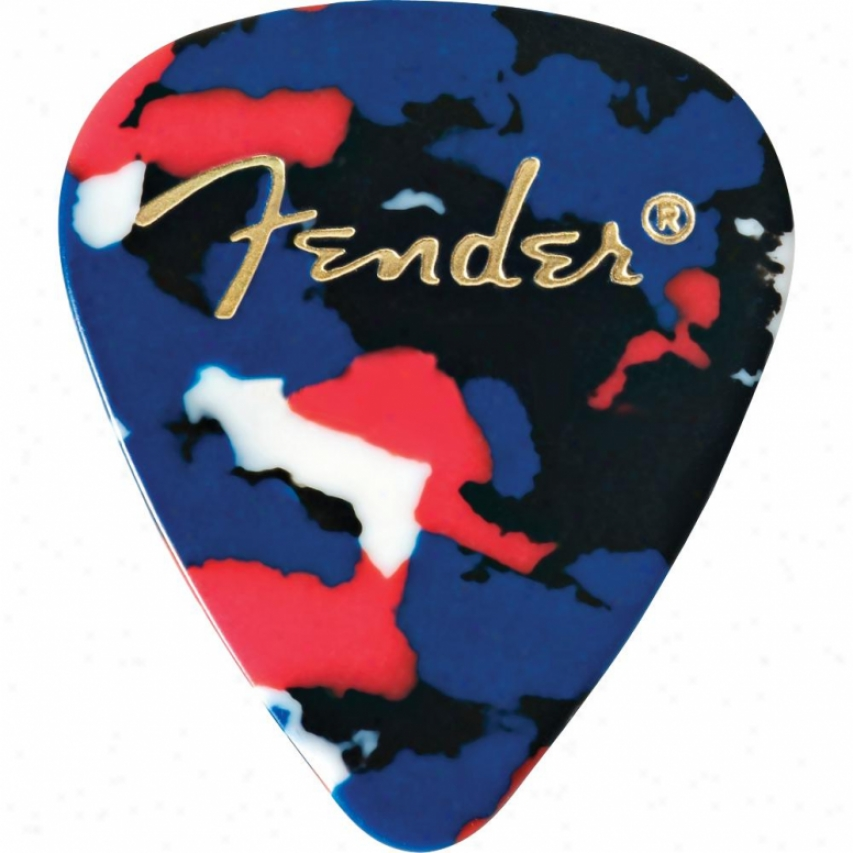 Fender® 0980351750 351 Shape First-rate work  Celluloid Confetti Guitar Picks - 12 Pa