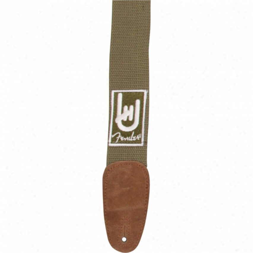 "Fender® 099-0672-001 ""rock On"" Guitar Strap - Olive"