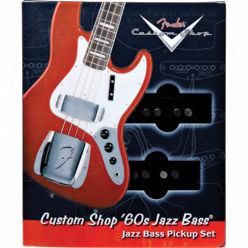 Fender® 099-2101-0O0 Custom 60's Jazz Bass® Pickups - Pair