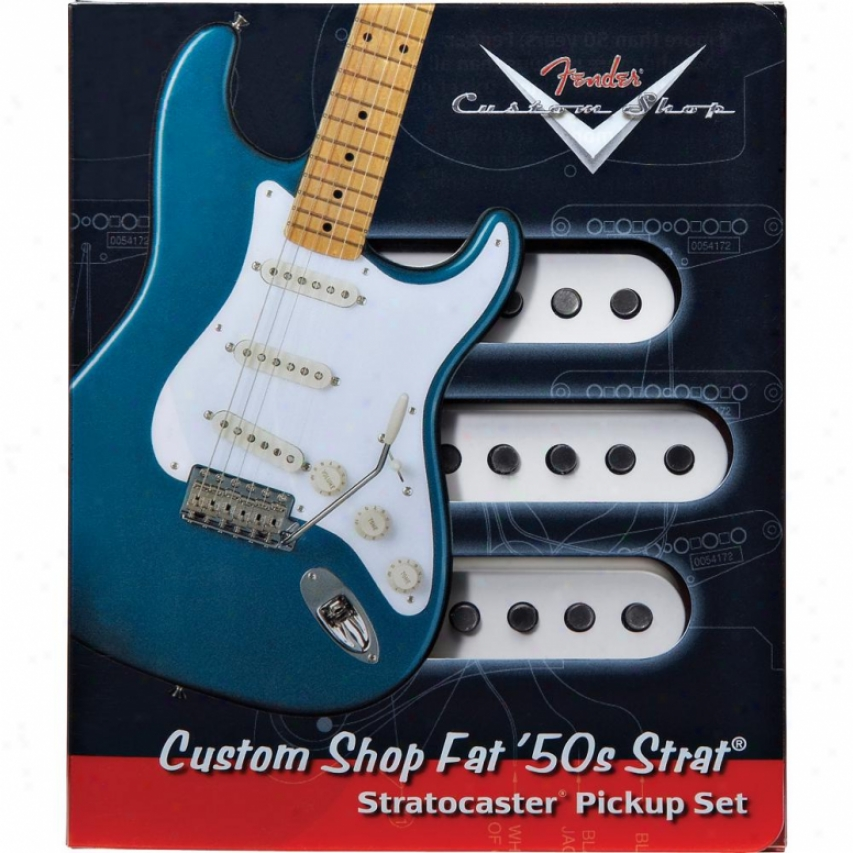 Fender® 099-2113-000 Fat 50's Stratocaster® Pickups - Set Of 3