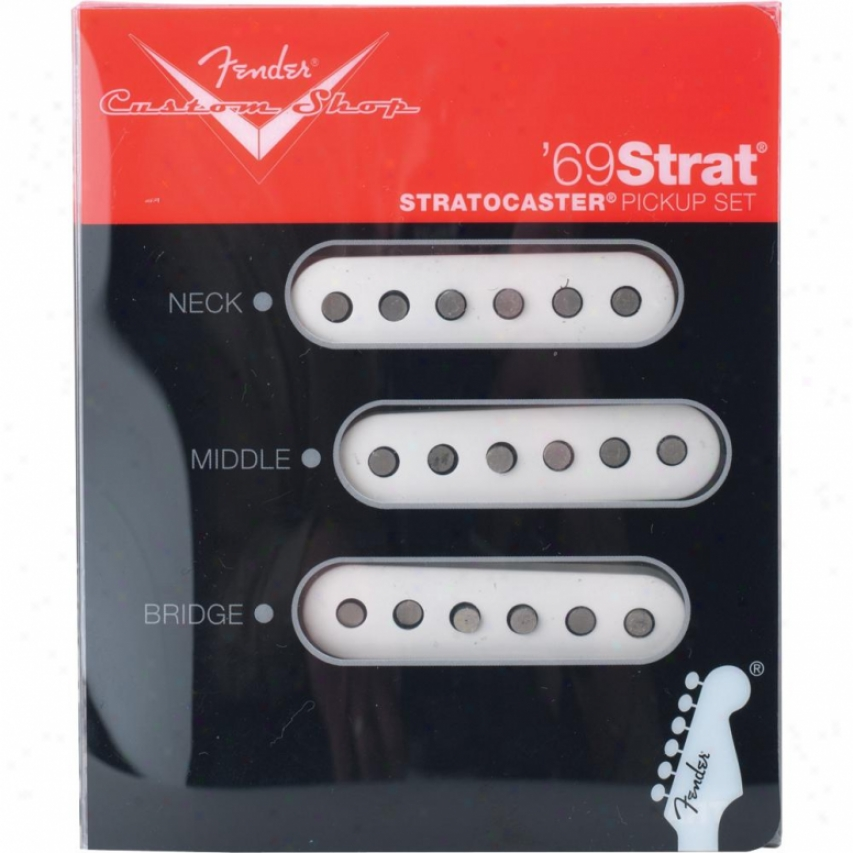 Fender® 099-2114-000 Custom Shop 69 Stratocaster® Pickups - Set Of 3