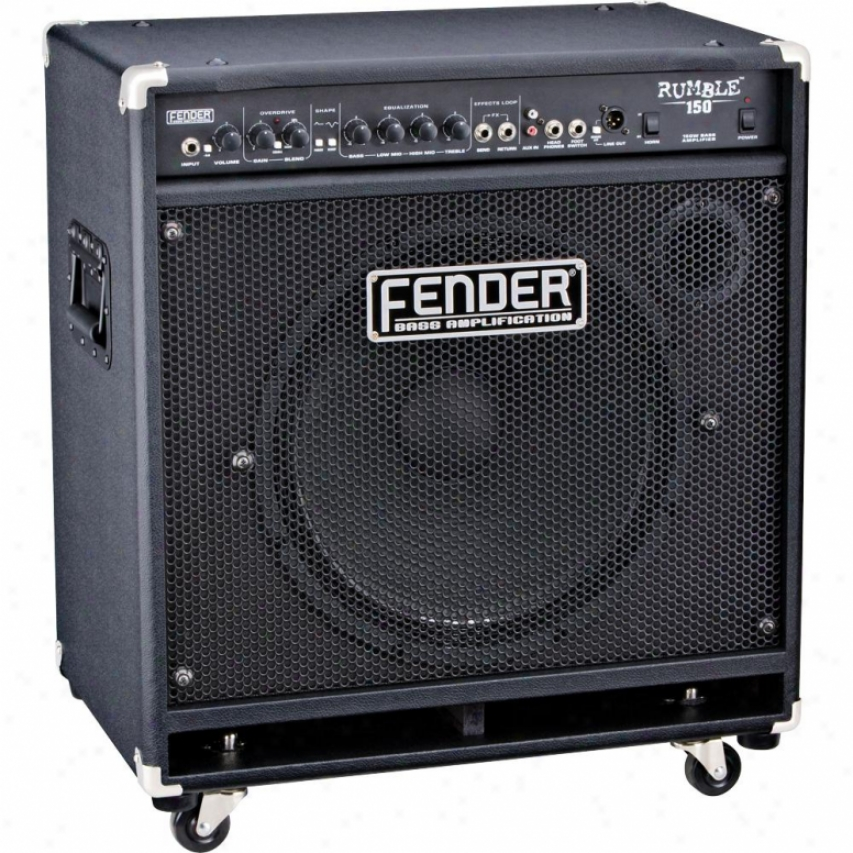 Fender® 231-5600-020 Rumble™ 150 Combo 150-watt Bass Amplifier - Black