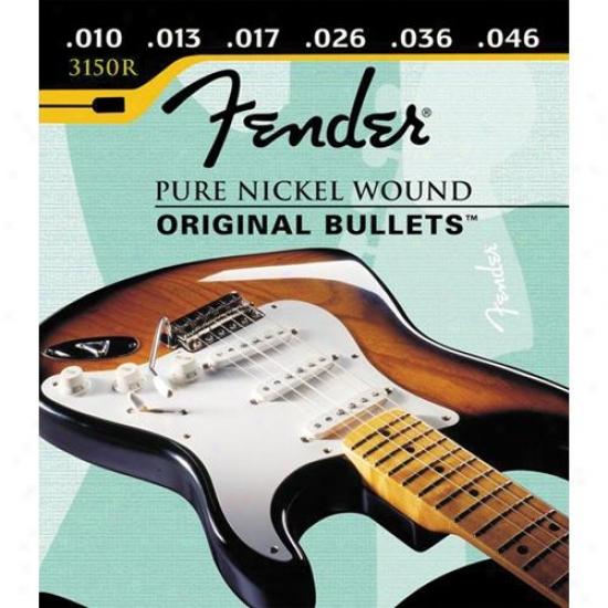 Fender® 3150r Originak Bullets Regular Gauge Electric Guitar Strings