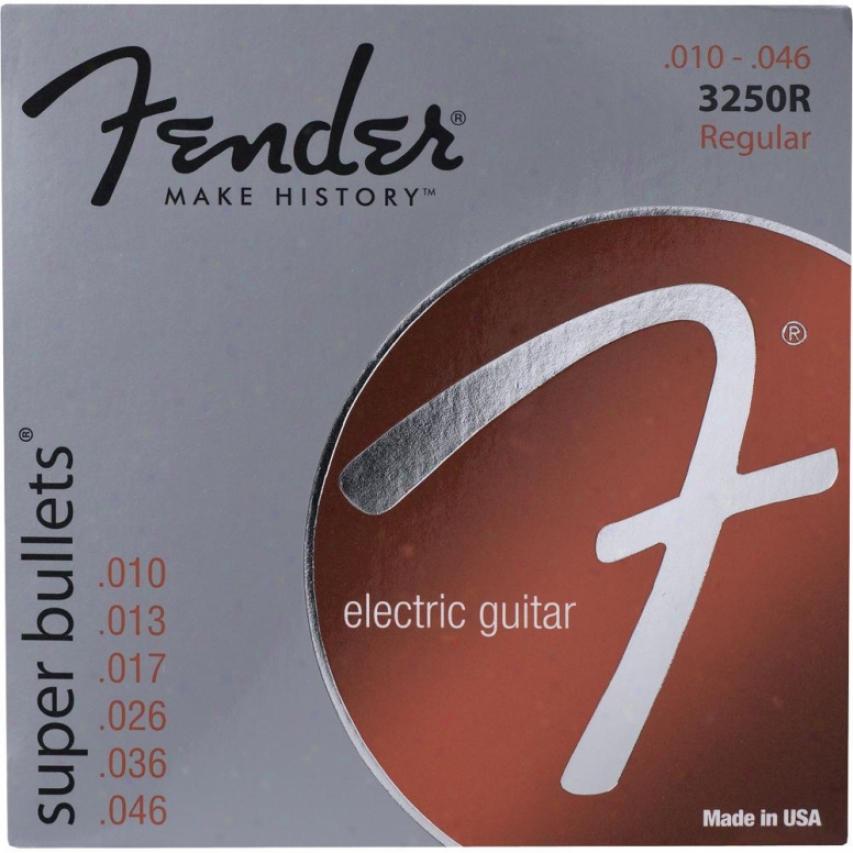 Fender® 3250 R 10-46 Bullet® Final state Electric Guitar Strings