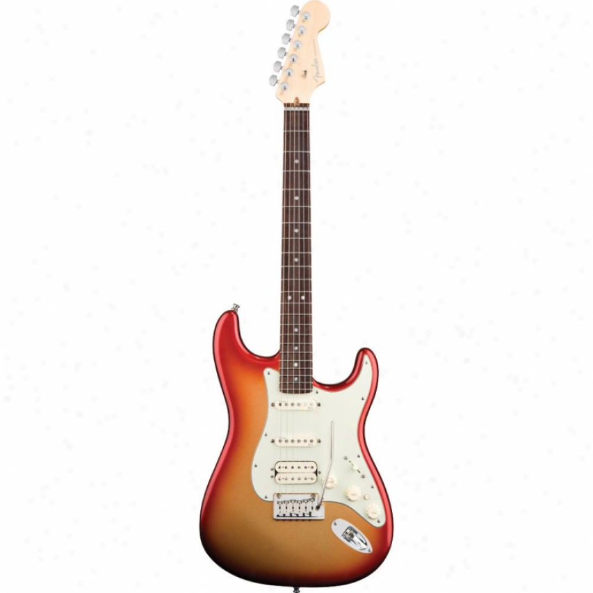 Fender® Amefican Deluxe Stratocaster Hss Rosewood Guitar - Sunburst Metallic