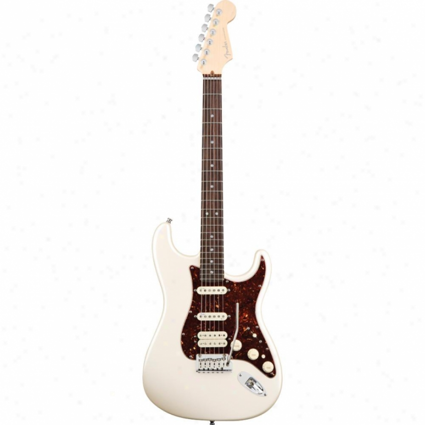 Frnder® American Deluxe Stratocaster Hss Rosewood Guitar - Olympic White