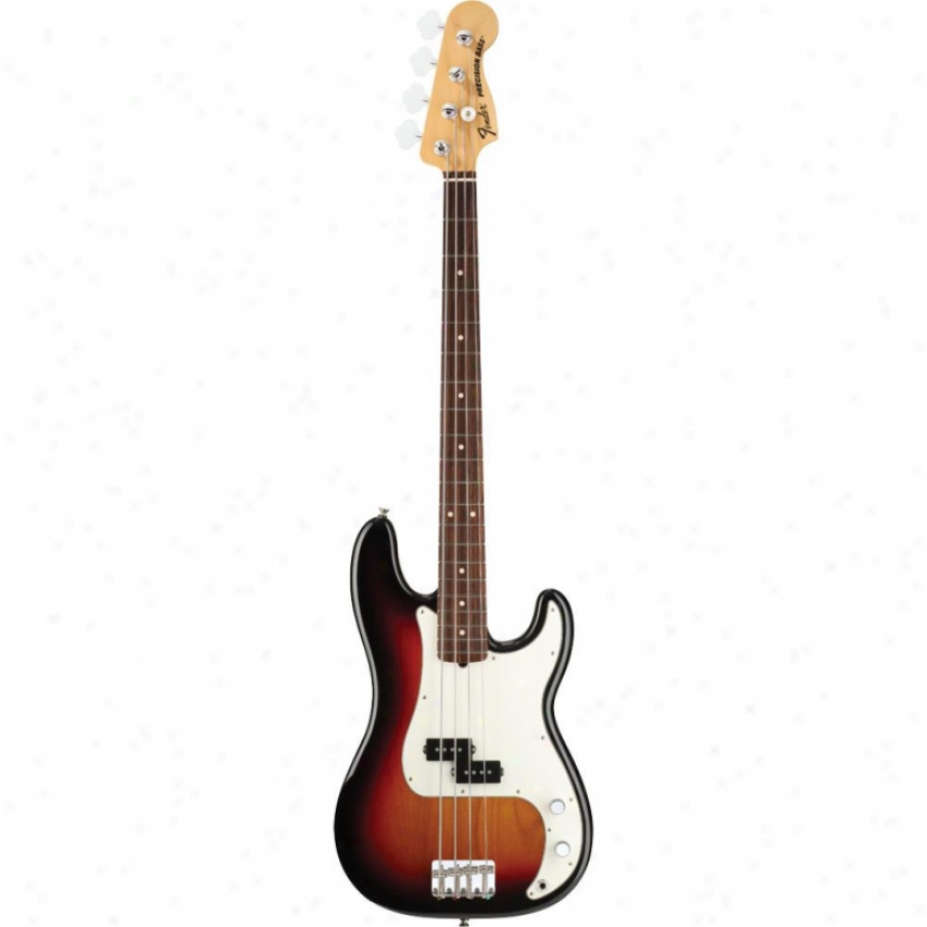Fender® American Special Precision Bass® Guitar - 3-tone Sunburst - 011-