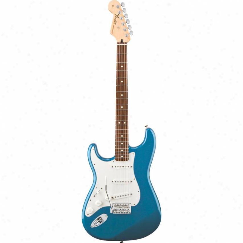 Fender® American Standard Strat® Guitar - Lake Placid Blue 017-0154-702