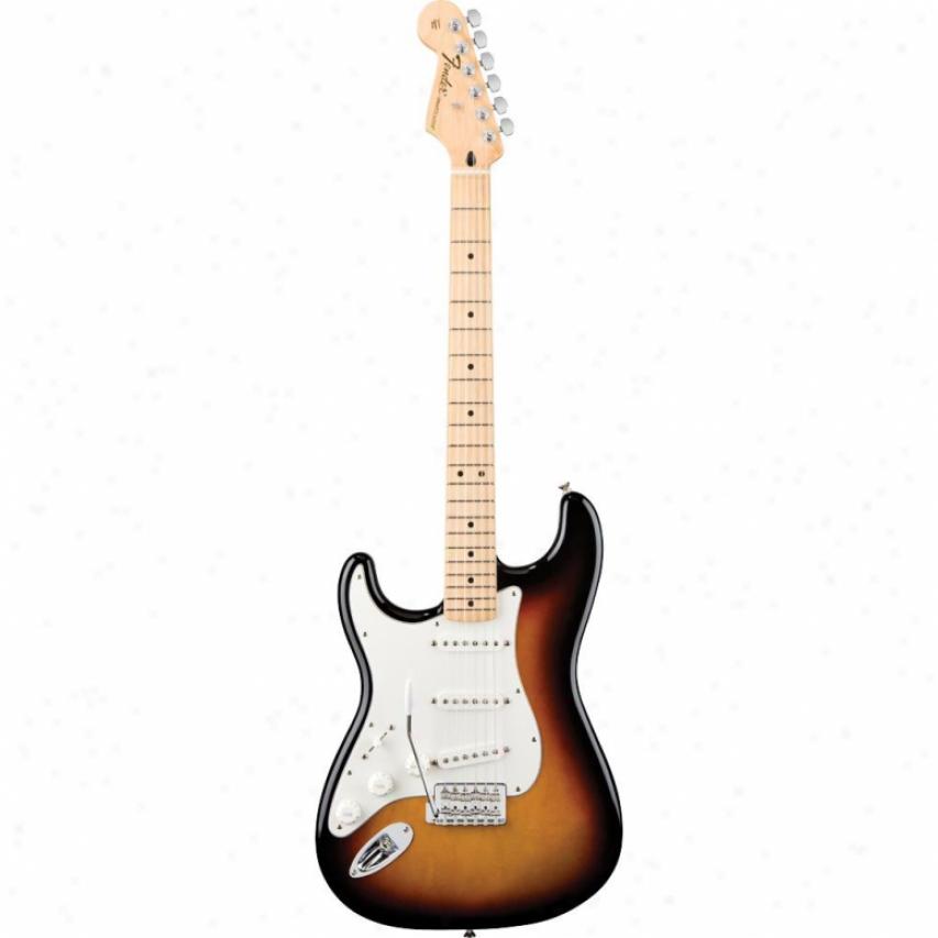 Fender® American Standard Stratocaster® Guitar - Sunburst - 0170-155-703