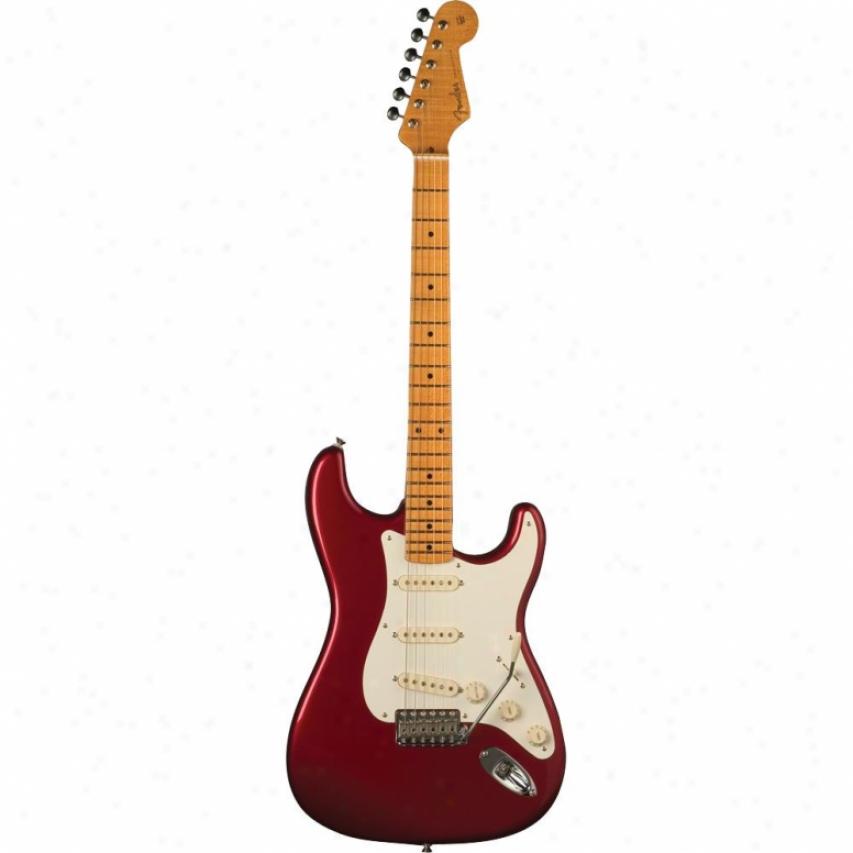 Fender® American Vintage '57 Strat® Guitar - Candy Apple Red 170-157-809