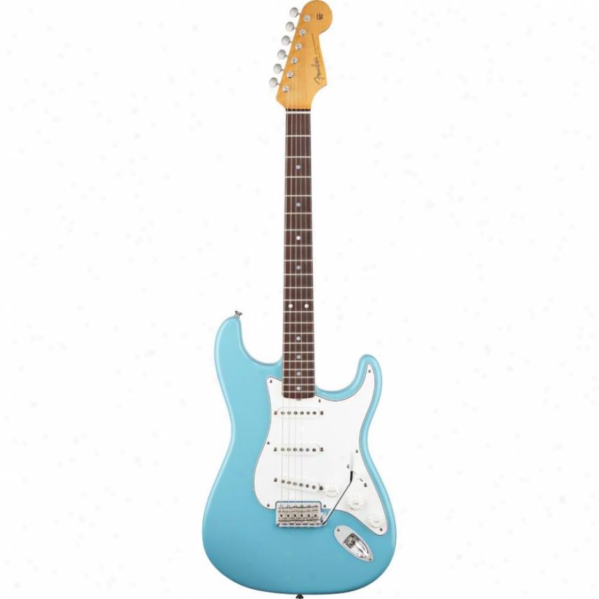 Fender® American Vintage '62 Strat® Guitar - Tropical Turqjoise 017-0156