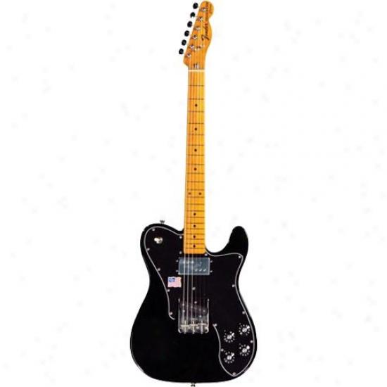 Feder® American Vintage '72 Teecaster® Guitar - Custom Black - 010-004