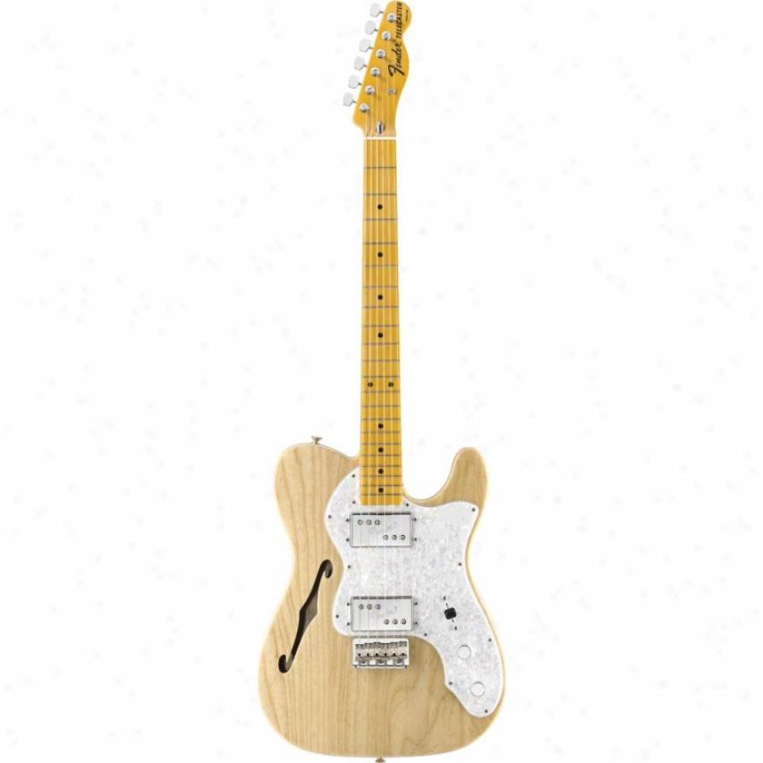 Fender® American Vintage '72 Telecaster&regg; Thinline Guitar - Natural - 010