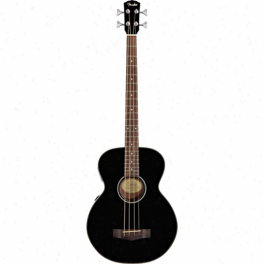 Fender® Bg-31 Acoustic Bass Guitar - Metallic Black - 095-3100-075