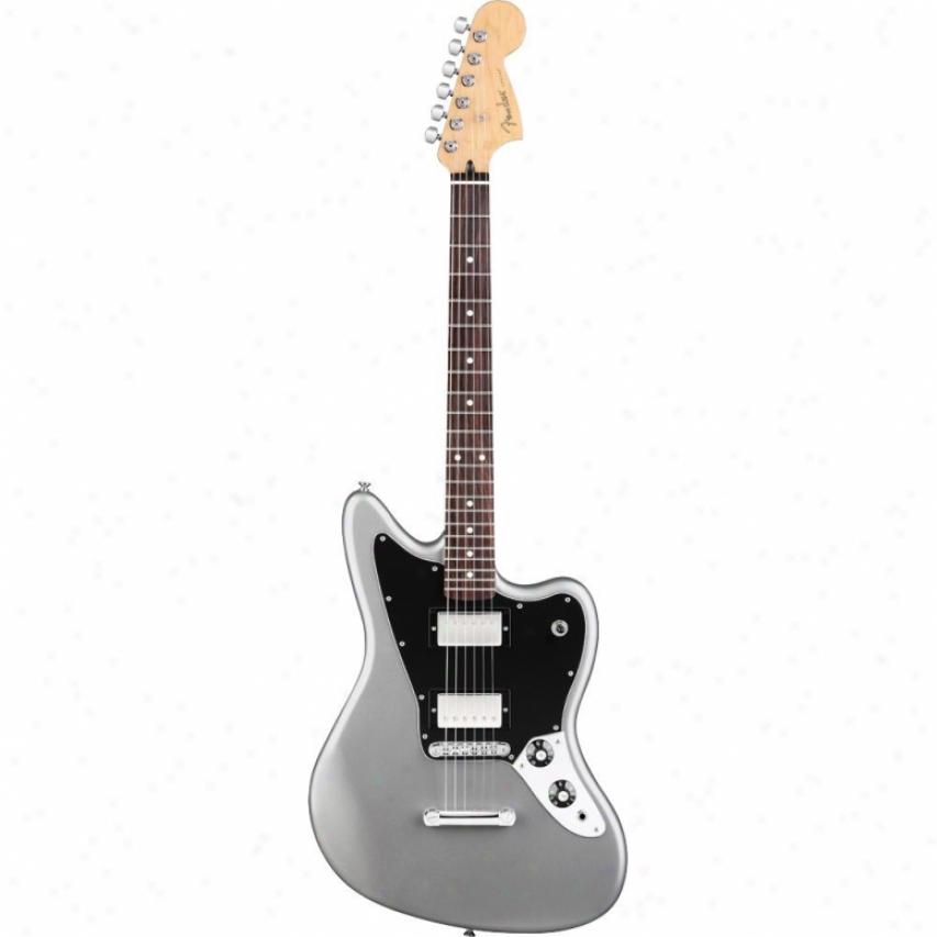 Fender® Blacktop Jaguar Hh Electric Guitar - Silver