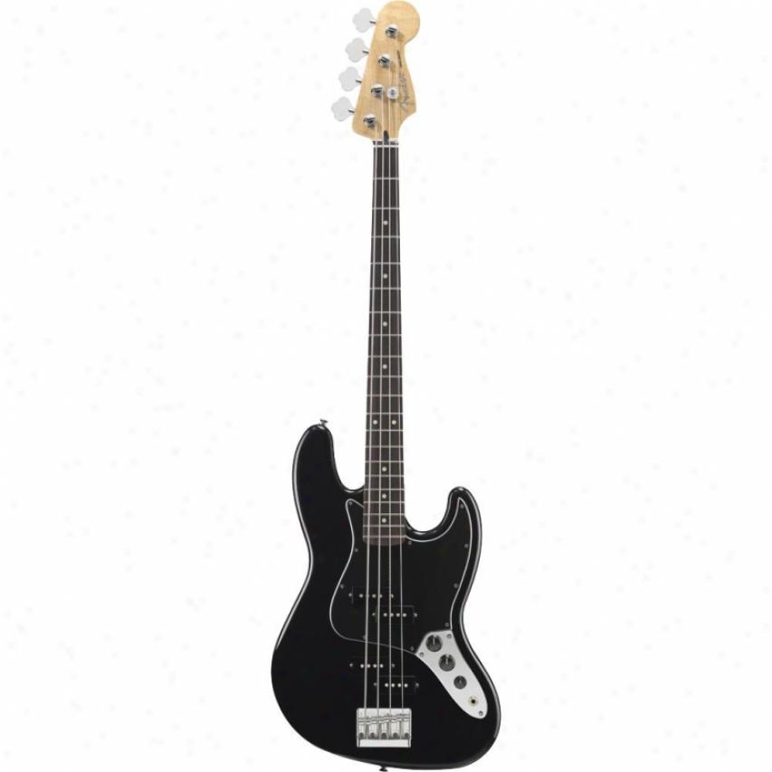 Fender® Blacktop Jazz Bass® Guitar - Black - 014-8600-506