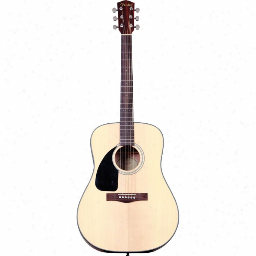 Fender® Cd-100 L/h Acoustic Guitar - Natural - 096-1534-021