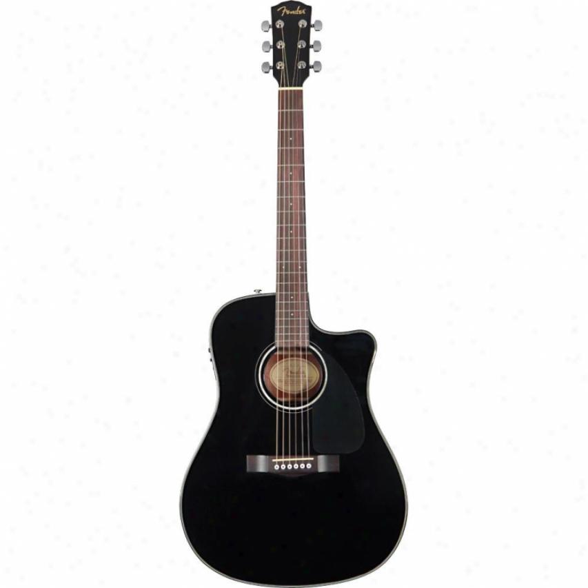 Fender® Cd-110ce Acoustic Guitar - Black - 096-1530-006