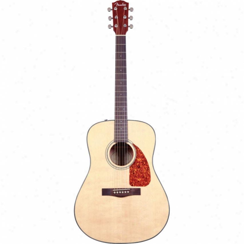 Fender® Cd-140s Acousric Guitar - Natural - 096-1518-021