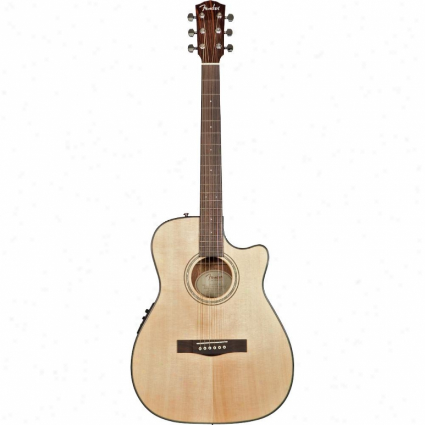 Fender® Cf-140sce Acoustic Electric Guitar - Natural - 0961461021