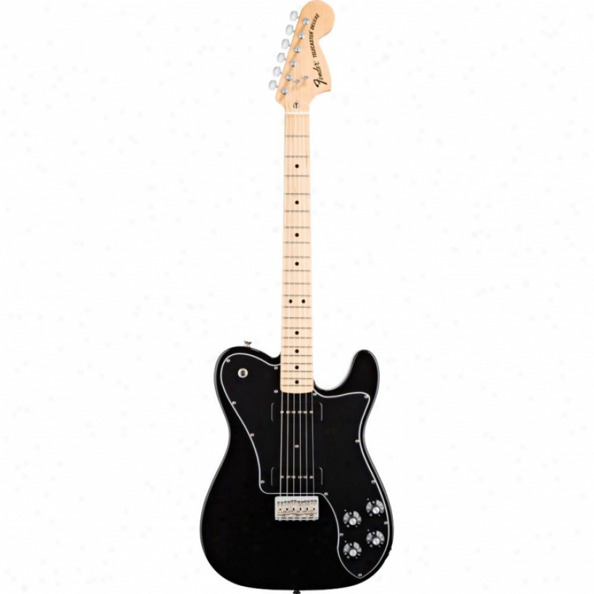 Fender® Classic Player Tele™ Deluxe Black Dove Guitar - Black