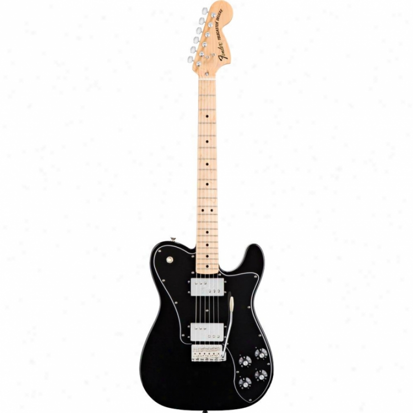 Fender® Classic Player Tele™ Deluxe W/ Tremolo Guitar - Black - 014-200