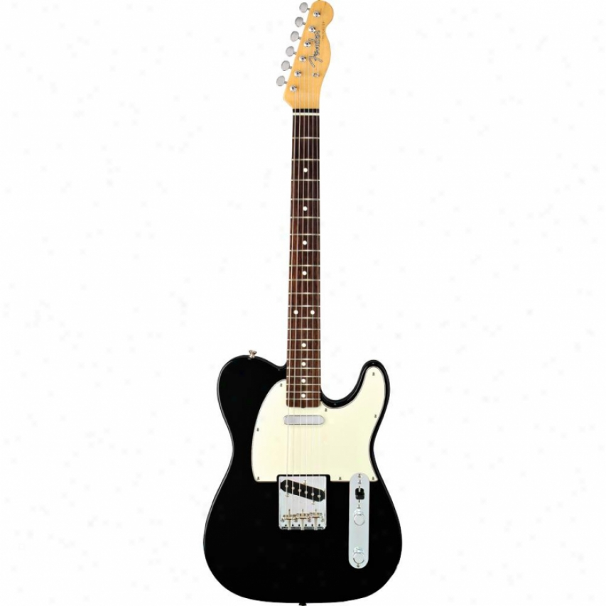 Fender® Classic Series '60s Telecaster&rwg; Guitar - Black - 013-1600-306