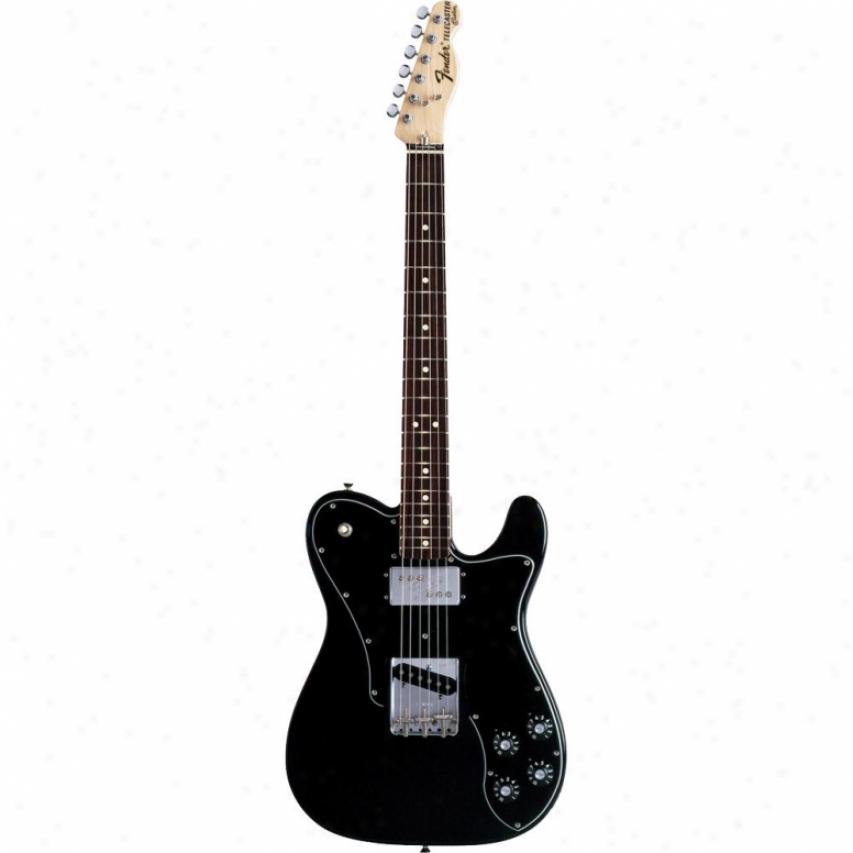 Fender® Classic Series '72 Telecaster® Cjstom Guitar - Black