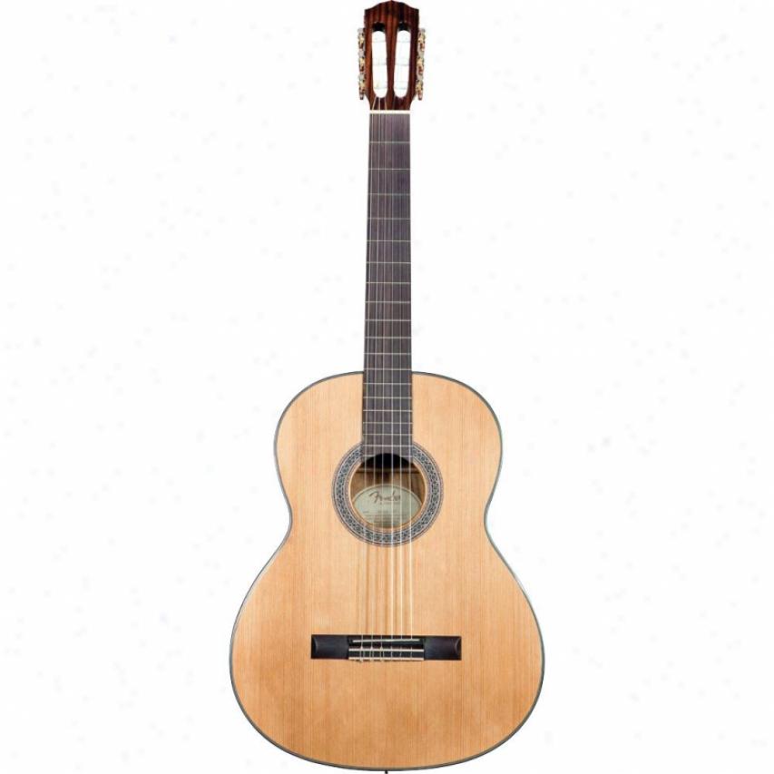 Fender&reg ; Cn-140s Acoustic Guitar - Natural - 0961465021