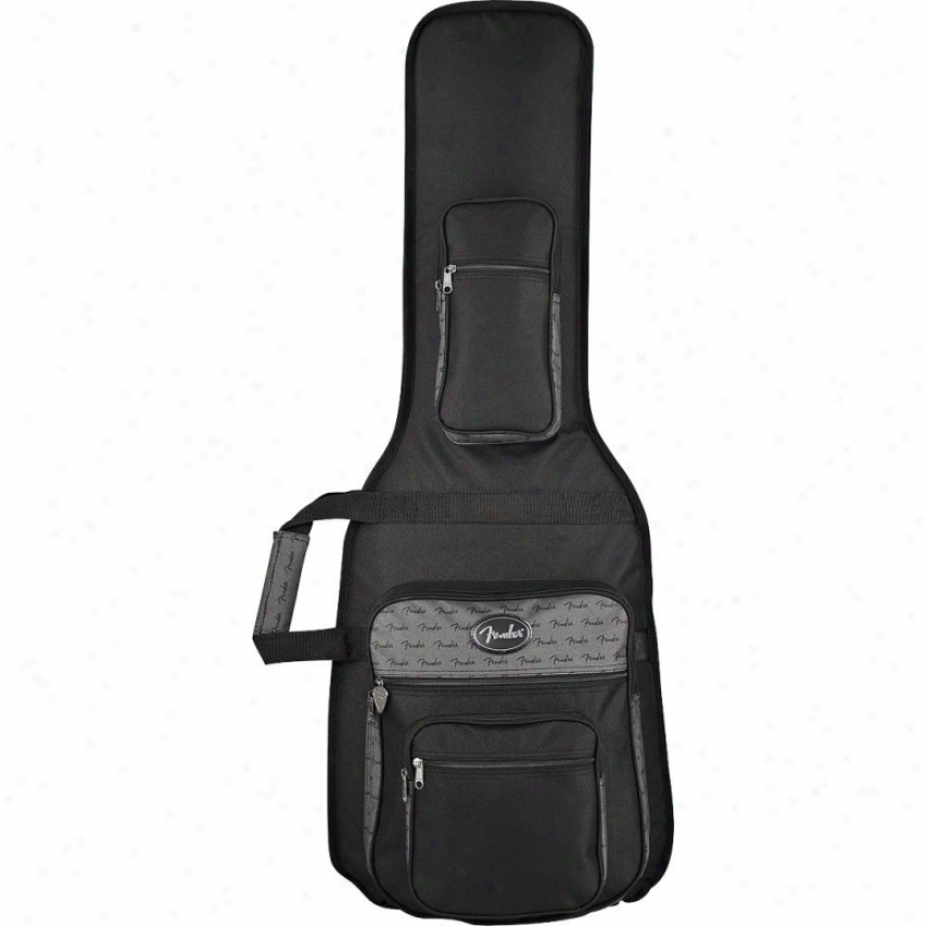Fender® Deluxe Strat/tele™ Gig Bag - Black - 099-15112-006
