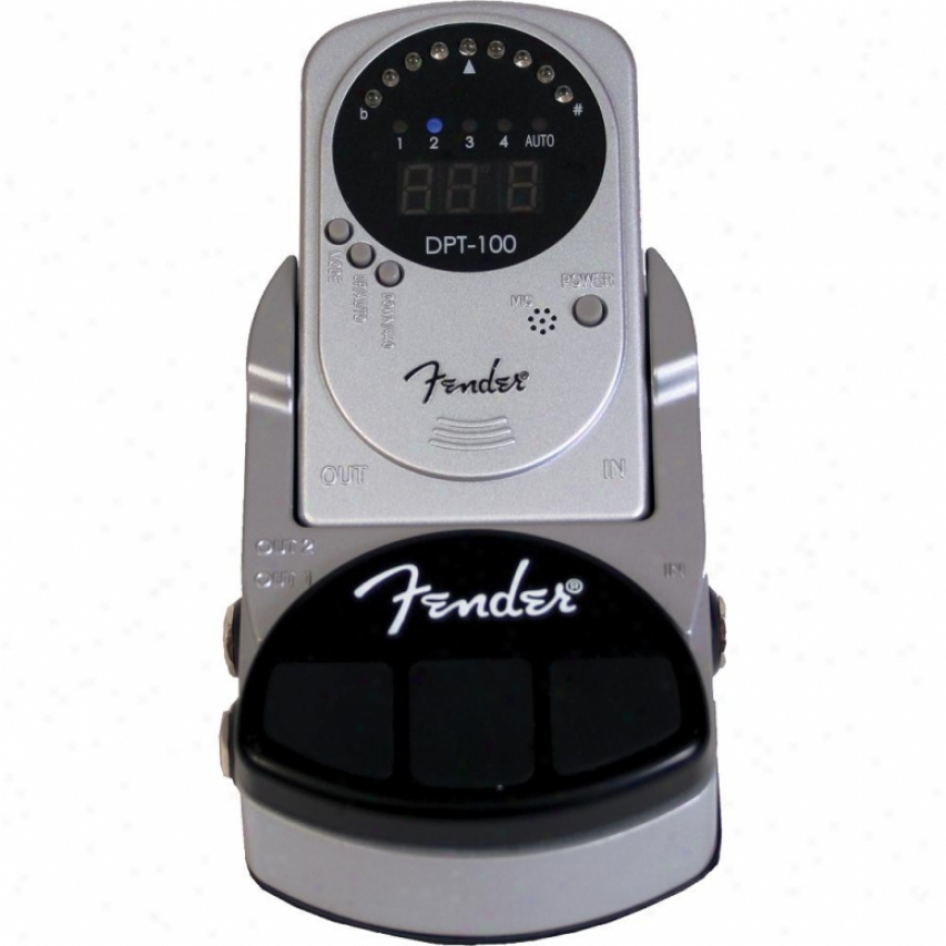 Fender&amp;reg; Fender&amp;reg; Dpt-100 Detachable Pedal Tuner And Docoing Station