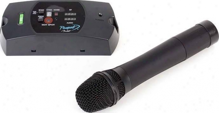 Fender ® High Quality Uhf Wireless Microphone & Receiver System For Pd Series