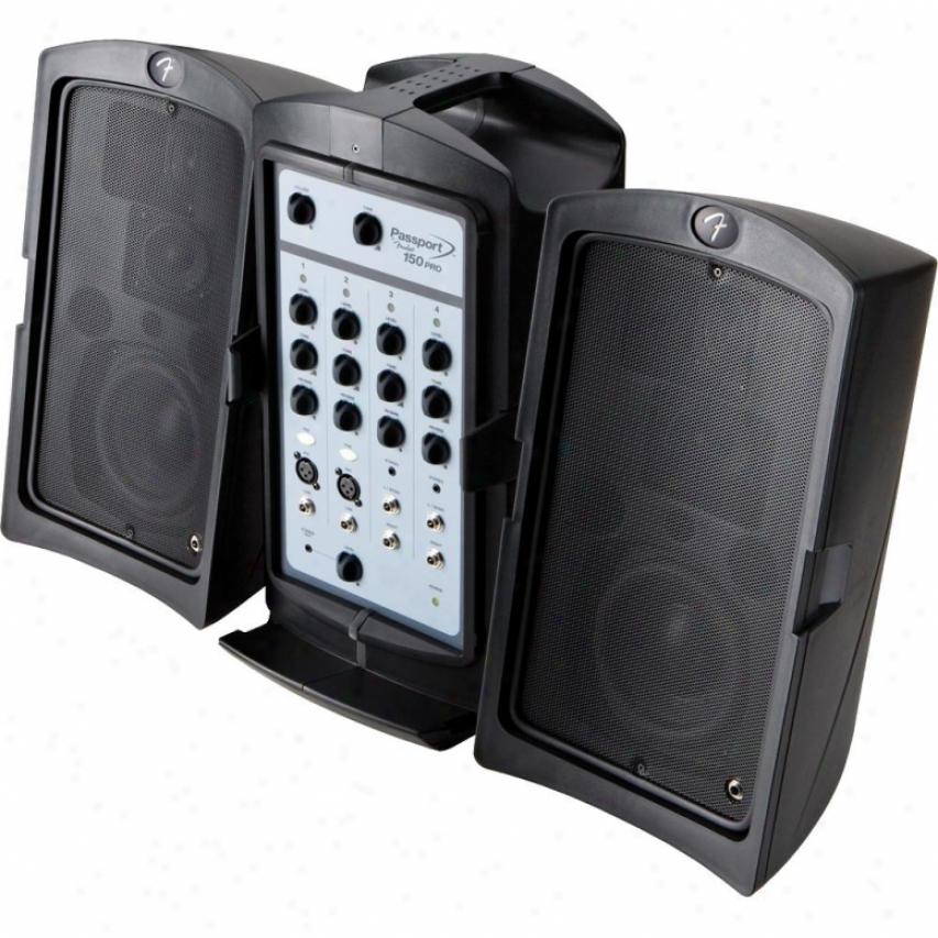 Fender® Passport® 150 Pro Portable Pa System 0694401000