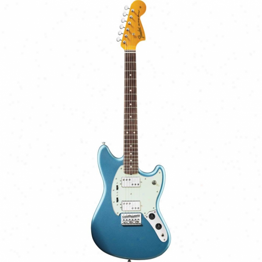 Fender® Pawn Shop Mustang® Special Guitar - Lake Placid Blie - 026-6400-