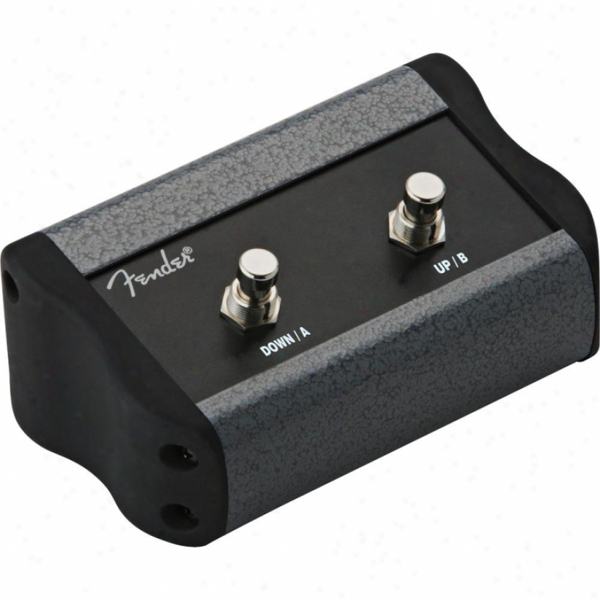 Fender® Programmable 2 Button Footswitch - 008-0997-000