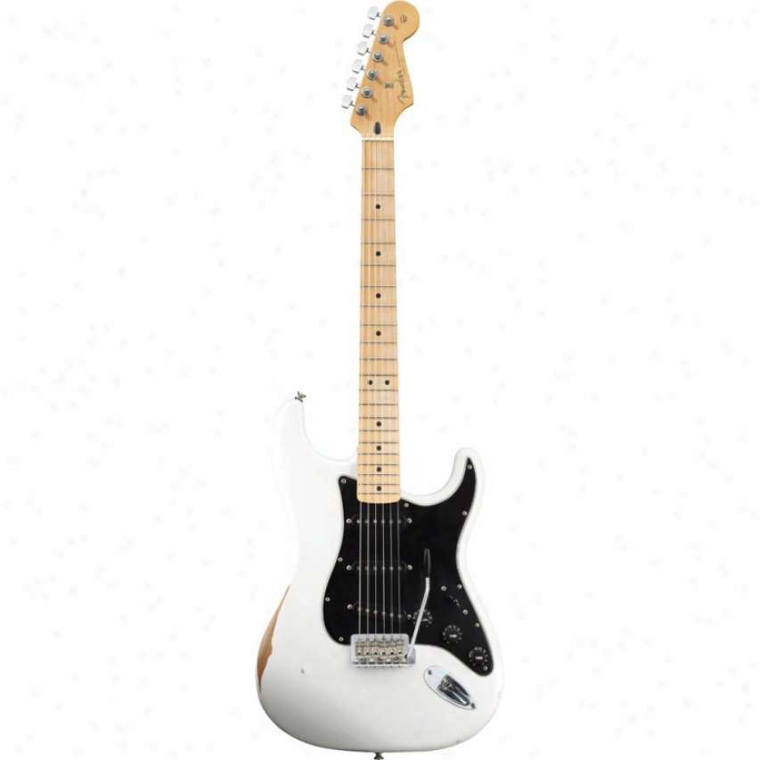 Fender® Road Worn Player Stratocaster® Guitar - Olymmpic White - 013-1062
