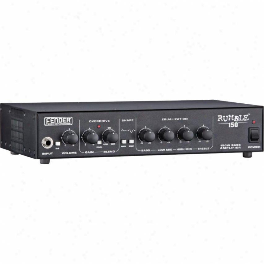 Fender® Rumble™ 150 150-watt Head Amplifier - Black - 231-5800-020