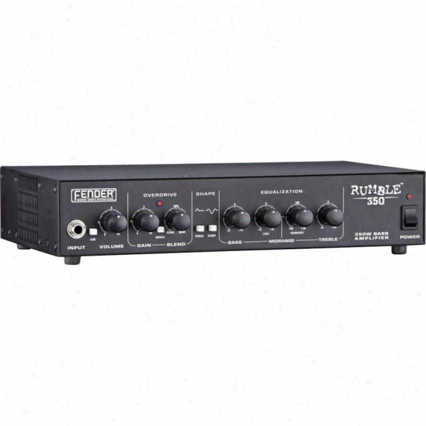 Fender® Rumble™ 350 350-watt Head Amplifier - Black - 231-5900-020