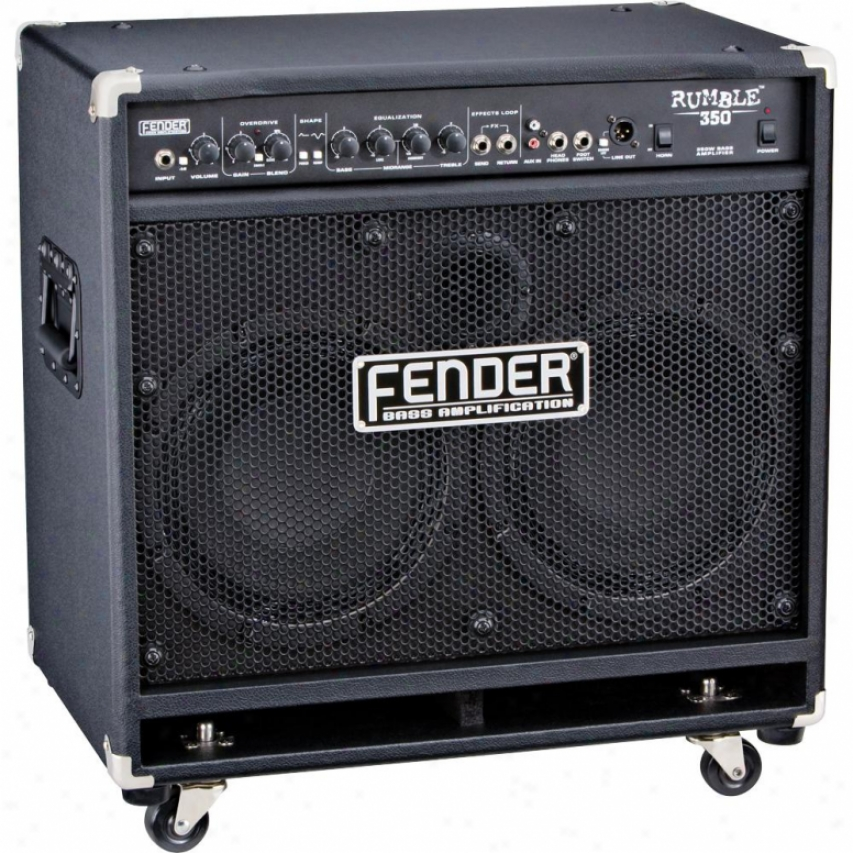 Fender® Rumble™ 350 Combo Amplifier - Black - 231-5700-020