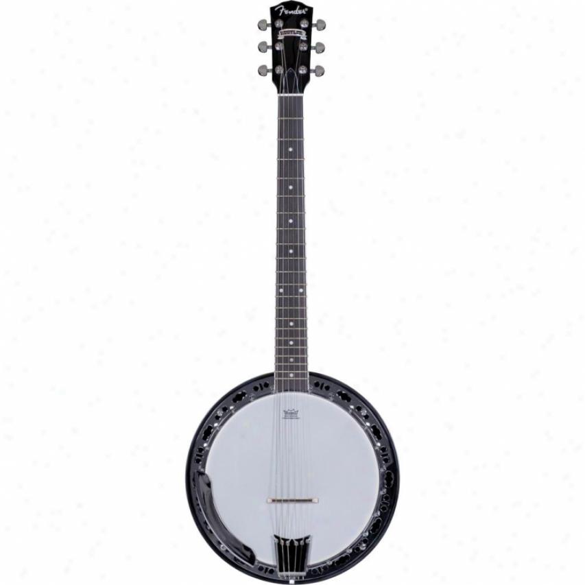 Fender® Rustled 6-string Banjo - 3 Color Sunburst