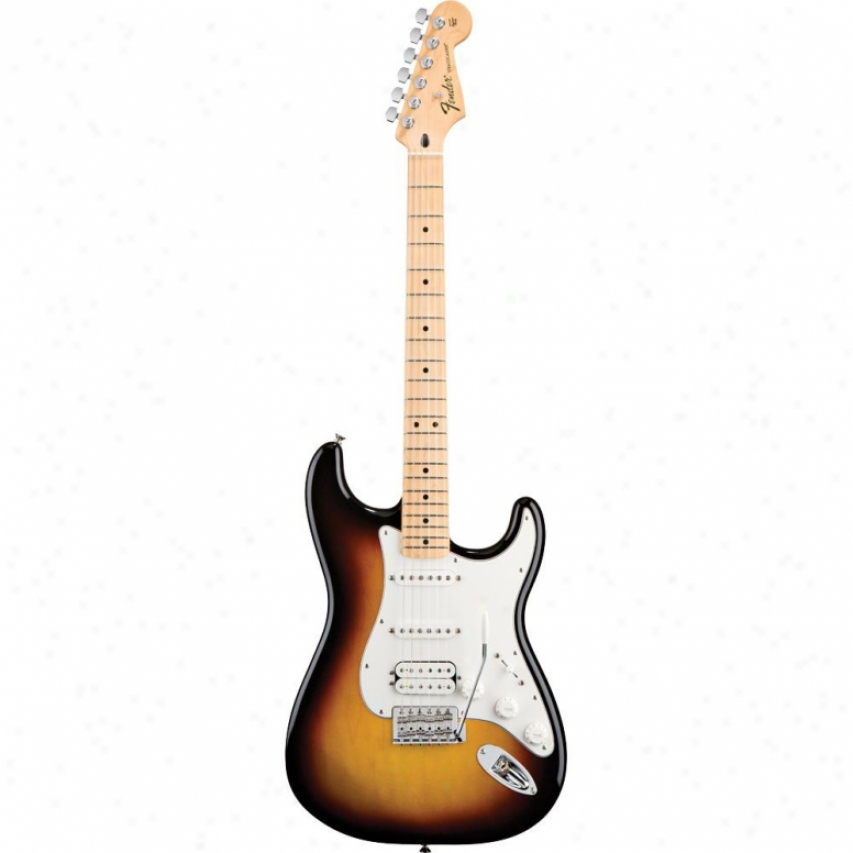 Fender® Standard Strat™ Hss Electric Guitar - Brown Sunburst Maple